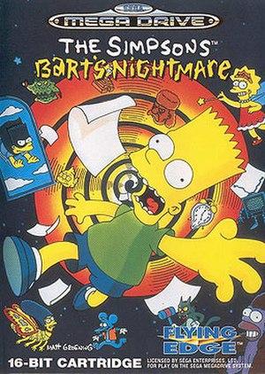 The Simpsons: Bart's Nightmare - Image: Bart's Nightmare