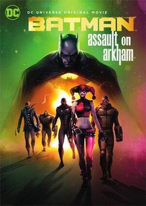 Batman: Assault on Arkham - Home video re-release cover art (2016)