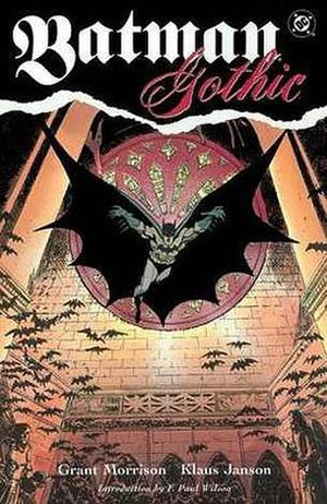 Batman: Gothic - Cover to trade paperback of Batman: Gothic.