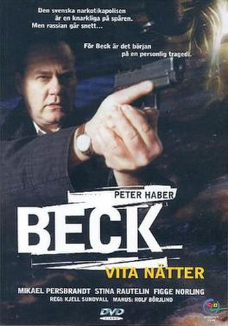 Beck – Vita nätter - Swedish DVD cover