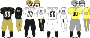 2009 Colorado Buffaloes football team - Image: Big 12 Uniform CU 2009