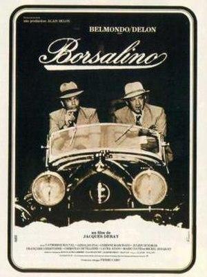 Borsalino (film) - French film poster for Borsalino