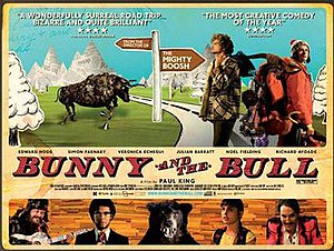 Bunny and the Bull - Theatrical release poster