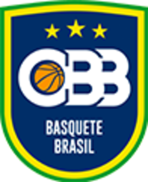 Brazil women's national basketball team - Image: CBB emblem