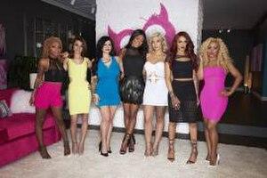 "Bad Girls Club (season 16) - The original seven ""Bad"" Girls of season 16 (left to right): Brynesha, Kailie, Zee, Elliadria, Kaila, Adryan, and Tabatha."
