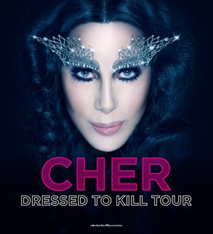 Dressed to Kill Tour (Cher) - Promotional poster for the tour