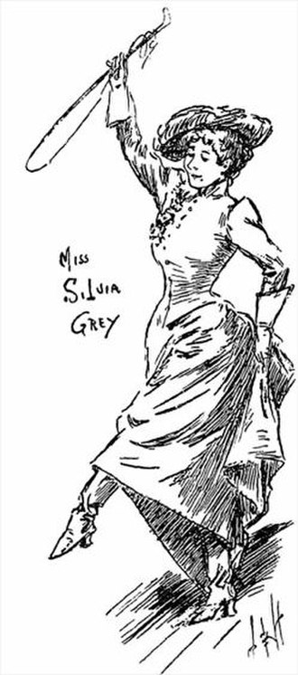 Cinder Ellen up too Late - Sylvia Grey as Linconzina