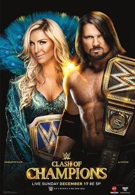Clash of Champions 2017 poster