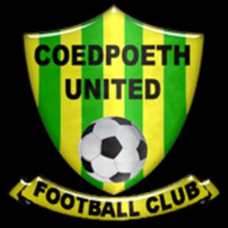 Coedpoeth United F.C. - Image: Coedpoeth United badge