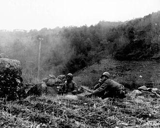 65th Infantry Regiment (United States) - Company C on patrol
