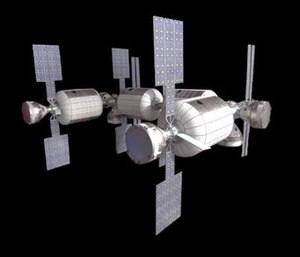 Bigelow Commercial Space Station - Image: Complex Bravo Model