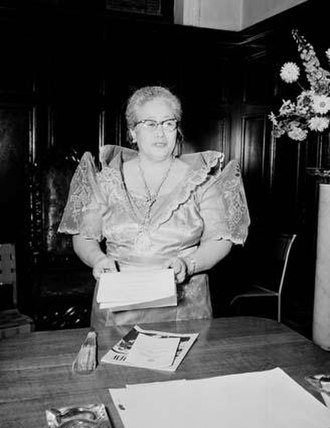 Centro Escolar University - Dr. Concepcion Aguila, CEU's first Dean of Graduate School. The first woman to graduate with a doctoral degree at Georgetown University.