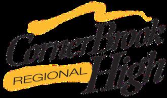 Corner Brook Regional High - Image: Corner Brook Regional High logo