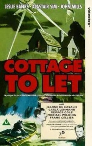 Cottage to Let - Theatrical release poster
