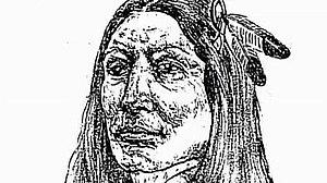Crazy Horse - Image: Crazy Horse sketch