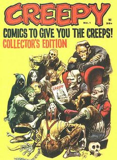 <i>Creepy</i> (magazine) Comic magazine