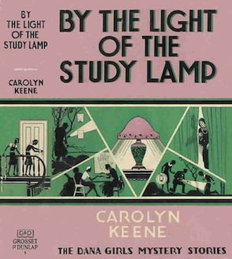 The Dana Girls - By the Light of the Study Lamp, the first Dana Girls book