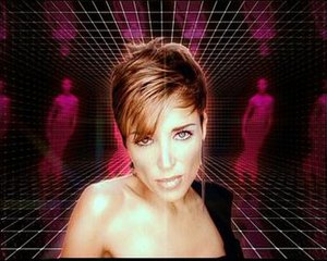 Put the Needle on It - The music video featured Minogue in a colourful digital room.