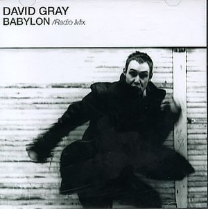 Babylon (David Gray song) - Image: David Gray Babylon US promo CD