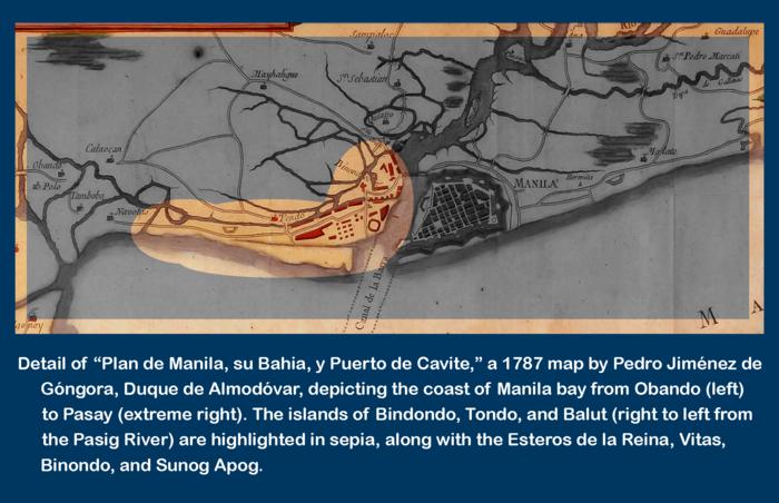 Tondo historical polity wikiwand detail of the duque de almadovars 1787 plan de manila su bahia y puerto de gumiabroncs Images