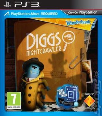 Diggs Nightcrawler - European cover art