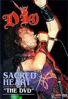 """<i>Sacred Heart """"The Video""""</i> 1986 video by Dio"""