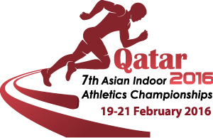 2016 Asian Indoor Athletics Championships - Image: Doha 2016logo