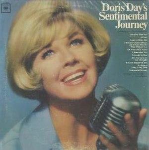 Doris Day's Sentimental Journey - Image: Doris Day's Sentimental Journey cover