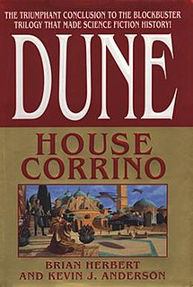 <i>Dune: House Corrino</i> novel by Kevin J. Anderson