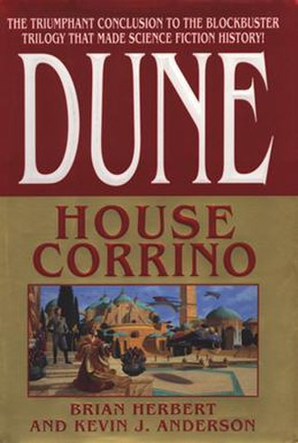 Dune: House Corrino - First edition cover