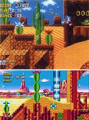 Sonic Mania - Image: Dust Hill Mirage Saloon