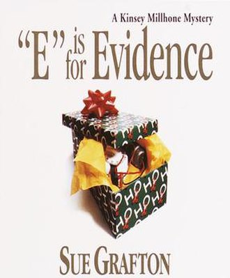 """E"" Is for Evidence - Cover of the book ""E"" Is for Evidence by Sue Grafton."