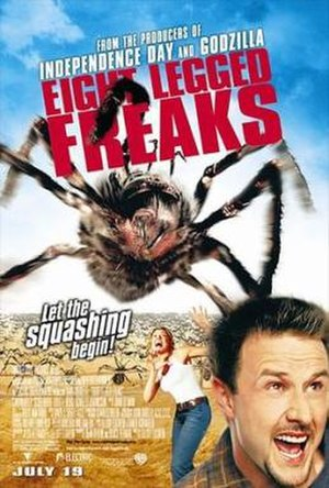 Eight Legged Freaks - Theatrical release poster