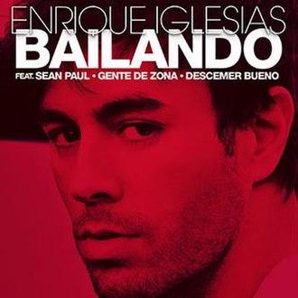 Bailando (Enrique Iglesias song) - Image: Enriquebailandocover