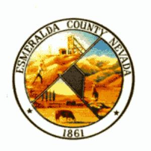 Esmeralda County, Nevada - Image: Esmeralda County, Nevada seal