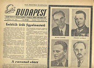 Eastern Bloc media and propaganda - Esti Budapest, October 6