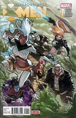 Extraordinary X-Men - Image: Extraordinary X Men 1