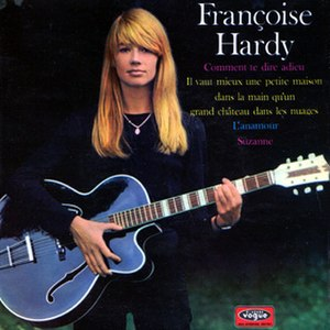 Comment te dire adieu (song) - Image: F. Hardy EP Comment te dire adieu 1968