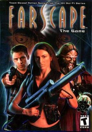 Farscape: The Game - Image: Farscapegamecover