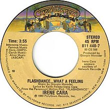 Flashdance... What a Feeling by Irene Cara U.S. vinyl 7-inch Side A.jpg