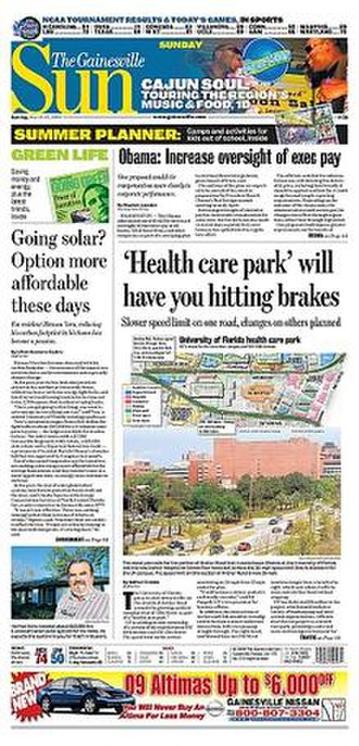 The Gainesville Sun - Image: Gainesville Sun