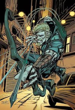 Green Arrow Wikipedia Waiting for the requiem stands :) license: green arrow wikipedia