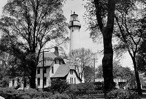 Grosse Point Light - Undated USCG photo