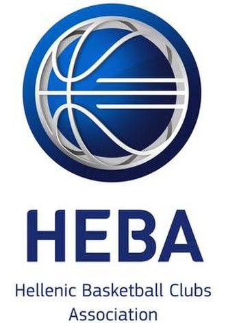 Hellenic Basketball Clubs Association - Image: HEBA Logo