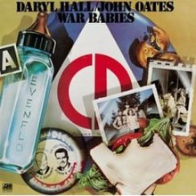Image result for hall & oates war babies