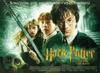 Harry Potter and the Chamber of Secrets (film) - Theatrical release poster