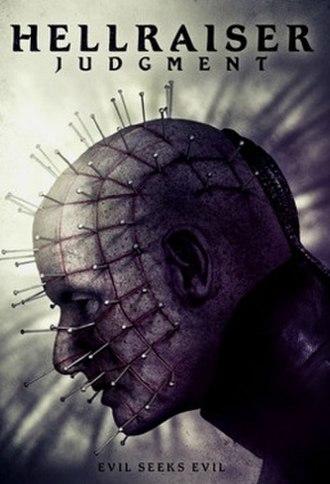 Hellraiser: Judgment - Home media release artwork