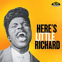 "Featured recording ""Here's Little Richard"""