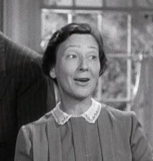 Hilda Plowright - Plowright in The Philadelphia Story (1940)