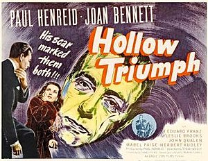 Hollow Triumph - Theatrical release lobby card